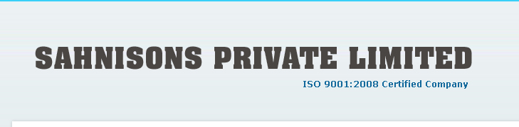 Sahnisons Private Limited